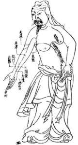 akupunktūra kontaktai
